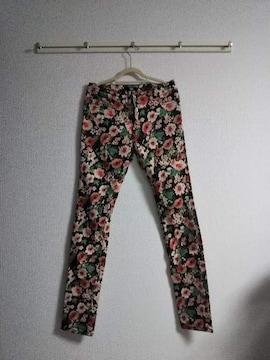 Ryu-Ryu 花柄パンツ