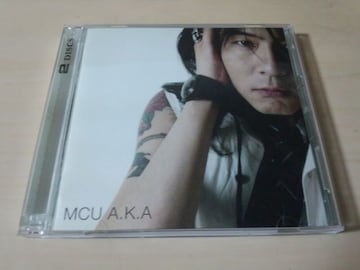 MCU CD「A.K.A」初回生産限定盤DVD付 KICK THE CAN CREW●