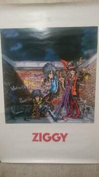 中古 貴重!当時モノ ZIGGY ジギー ポスター NICE&EASY ナイスアンイージー