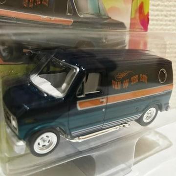 JL/'77 Fordフォード Econolineエコノライン 青 1/64 限定2500
