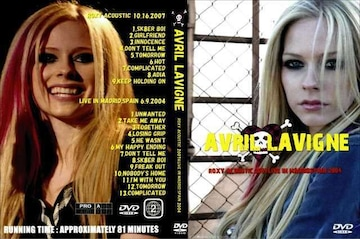 AVRIL LAVIGNE ACOUSTIC 2007 & SPAIN 2004