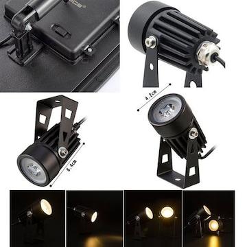 ソーラー LED ライト アウトドア スポットライト