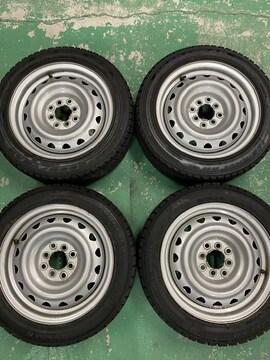 1082635)国産グッドイヤ-スタッドレスタイヤコンパクトカ-4本185/55R15送料無料