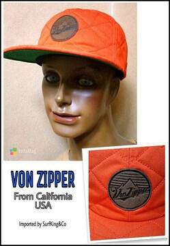 VON ZIPPERキルティングCAP本物USA正規輸入品!新同美品激安!
