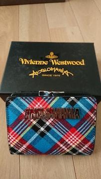 新品ヴィヴィアンウエストウッド新作カラー短財布