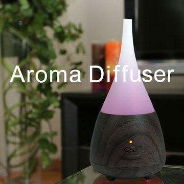 送料無料 アロマディフューザー 次亜塩素酸水対応 除菌 加湿器