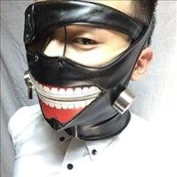 ★限定出荷★ 東京喰種 マスク 眼帯 金木 コスプレセット