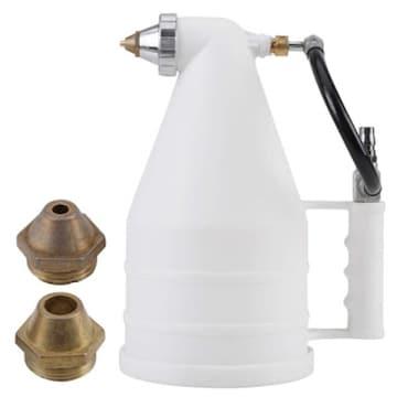 Qiilu リシンガン セメントモルタル 噴霧器 スプレーガン 乾式