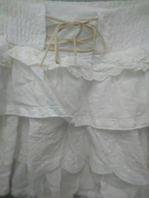 Ank Rouge☆コットン段々スカート < ブランドの