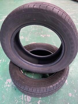 6081271)激安国産中古タイヤ2本ミニバンRVタイヤ205/60R16送料無料