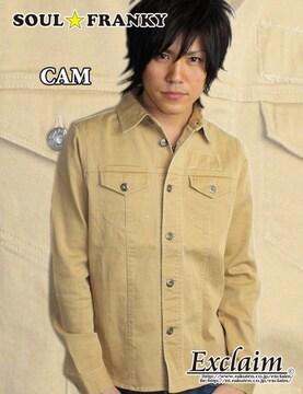 SOUL☆FRANKY梅しゃん私物カツラギシャツジャケット/M