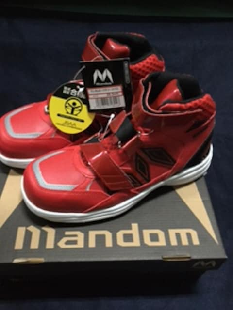 丸五 安全靴 マンダムセーフティ#742 数量限定特価