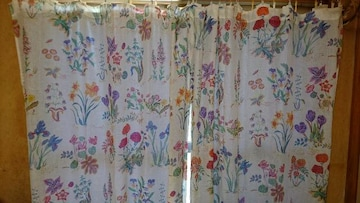 ZARA HOME/ザラホーム 花柄 カーテン2枚