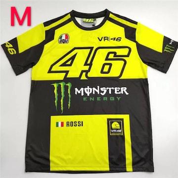 MONSTER VR46 ロッシ ドライTシャツ Mサイズ
