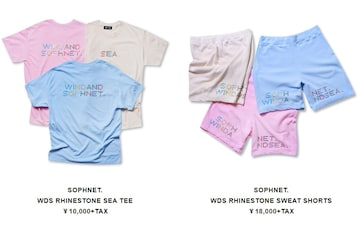 WIND AND SEA × SOPHNET コラボ!セットアップ M