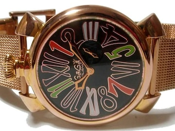 【世界250本限定】ガガミラノ/Gaga Milano スモセコ 腕時計★
