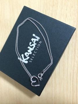 KANSAI  シルバーハートネックレス 925