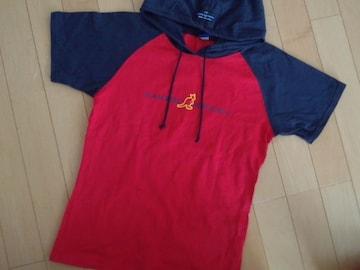 カンゴールスポーツkid,s☆フード付半袖Tシャツ♪160