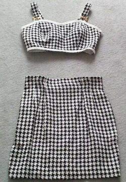ラストシーン★ビスチェ&スカートセット