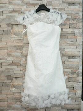ミニ丈のウェディングドレス ・未着用・即決!