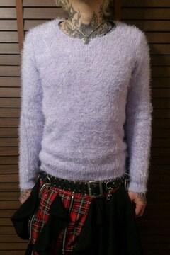 即決Fxxkモンスターシャギーニットセーター!パンクロックセックスピストルズジョニーロットン666