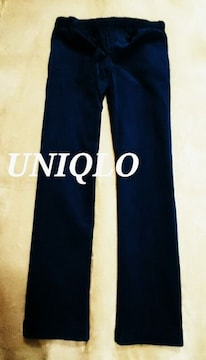 【UNIQLO】コーデュロイイージーパンツ M(76〜84�p)/Navy