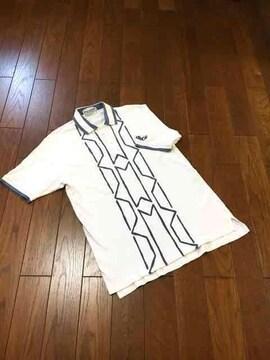 【即決】PARADISO◆バイカラー◆メンズデザインポロシャツ◆M