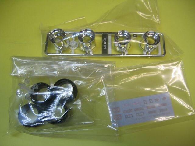 アオシマ 1/24 ザ・チューンドパーツ No.56 マーク�V 14インチ MK-�V AD-R < ホビーの