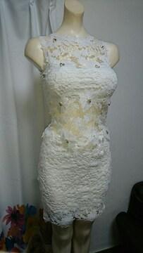 dazzy Queen レース白 セパレート ナイトドレス