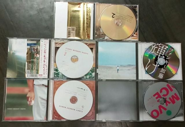 FUNKYMONKEYBABYS・ファンキー加藤のCD5枚詰め合わせ福袋 < タレントグッズの