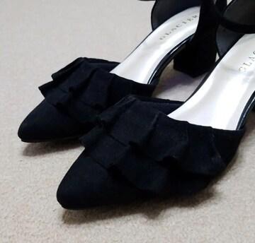 黒パンプス Lサイズ